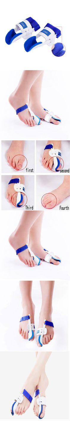 1Pair Hot Selling Big Toe Straightener Bunion Orthotics Hallux Valgus Corrector Foot Care Tool Pedicure Device Concealer Thumb