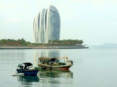 The days of traditional fishing boats are almost over as southernmost china city - Sanya - turns to be a sort of Florida of China.
