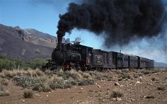 old railroad trains of south africa in photos | Finally, the driver had mustered enough coal, fire and faith to ...