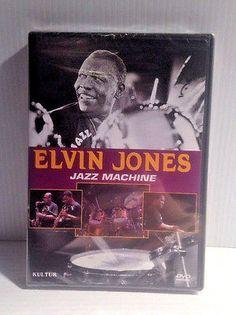 ELVIN JONES JAZZ MACHINE (DVD '05 BRAND NEW SEALED)