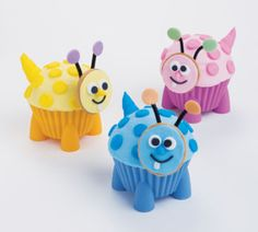 Wilton® Colorful Cupcake Critters, large