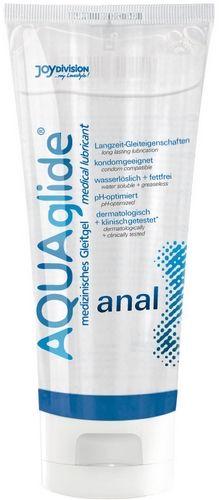 Aquaglide Anal Glidecreme - 100 ml fra Aquaglide - Sexlegetøj leveret for blot 29 kr. - 4ushop.dk - AquaGlide Anal er en vandbaseret glidecreme som er fremstillet specielt til anal brug. Dens optimale evner giver gode glideegenskaber over længere perioder. AquaGlide Anal er ekstra hudvenlig, fri for konserveringsstoffer, vandopløselig og fedtfri, skader ikke kondomet, klinisk & dematologisk testet. Lugt-, smags- og PH-neutral.