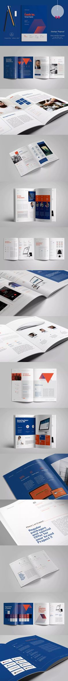 Modern Project Proposal \ Invoice Template InDesign INDD - 12 - project proposal