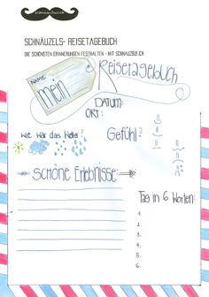 Schnäuzels Reisetagebuch - für eine garantiert unvergessliche Reisezeit. zum Downloaden auf: www.schnauzbus.ch