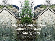 'Bridge the Contradiction! Nürnberg 2025 LI' von Martin Blättner bei artflakes.com als Poster oder Kunstdruck $15.77