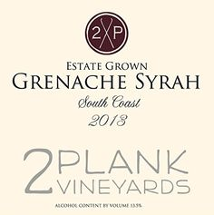 2013 2Plank Vineyards Grenache/Syrah Blend-Estate Grown 750 mL >>> You can get more details by clicking on the image.