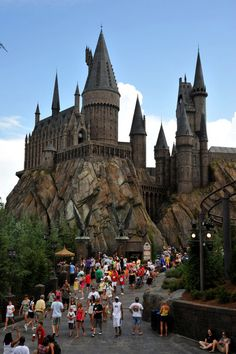 Wizarding World of Harry Potter Universal Studios Orlando. So want to go lol...