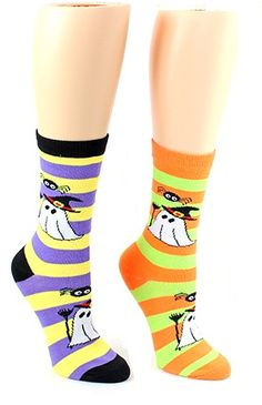 Cute Goldfish Fish Animal Crew Socks Halloween Tube Socks For Girls
