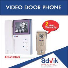 Enjoy #video chats and door unlock features with the added boon of 2 year warranty on Advik #VideoDoorPhones. More details: http://advik.net/products/video-door-phone