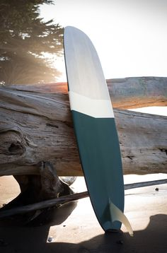 show stopper of a surfboard, and that driftwood tho.