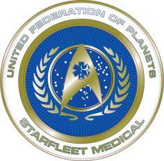 dbb201b35e4 Starfleet Medical. Star Trek LogoStar ...