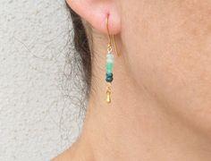 Custom Earrings, Coral Earrings, Amethyst Earrings, Bar Earrings, Tourmaline Necklace, Pink Tourmaline, Gold Pearl Ring, Gold Anklet, Pink Opal