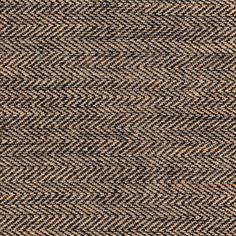 James Thompson House Designer - Herringbone Burlap - Herringbone in Black I LOVE THIS to redo my kitchen chairs in.