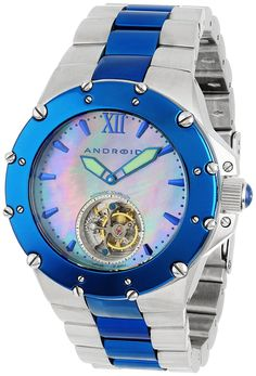 Android Unisex AD636BBU Divemaster Enforcer 45 Automatic Tourbillon Stainless Steel Watch * You can find out more details at the link of the image. (This is an Amazon Affiliate link and I receive a commission for the sales)