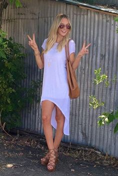 Lauren Bushnell wearing Five Worlds by Cordani Raul Wedge Sandals in Cocoa