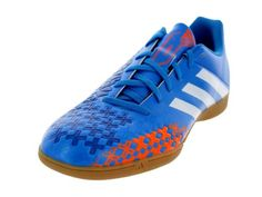 Adidas Men's Predito LZ IN Indoor Soccer Shoe - Product Description Adidas Men's Predito LZ IN Indoor Soccer Shoe Soft textile lining with a die-cut EVA insole for light weight and comfort Asymmetrical lacing system for great touch and better control The adidas Predito LZ IN features 3D... - http://shoes.goshopinterest.com/womens/athletic/soccer/adidas-mens-predito-lz-in-indoor-soccer-shoe/