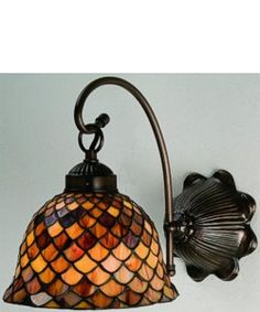 meyda tiffany tiffany fishscale wall sconce - Meyda Tiffany