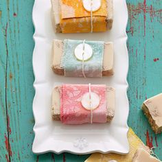Drop Cloth Soap Wraps
