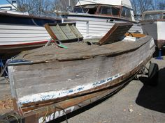 ... That Wooden Boat Restoration Project? | Classic Boats / Woody Boater