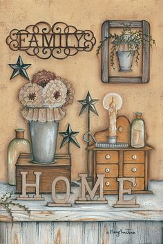 family home Mary Ann June