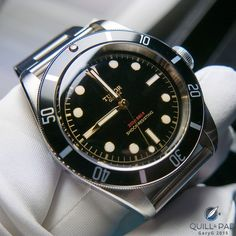 Tudor Black Bay Black One for Only Watch 2015