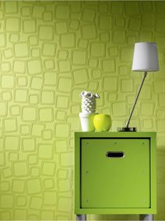 Ideal accent wall - Paintable Rollover Vision Wallpaper