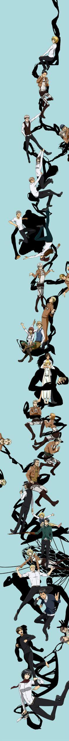 Durarara!! Ending - Never say never - Shingeki no Kyojin - attack on titan #anime