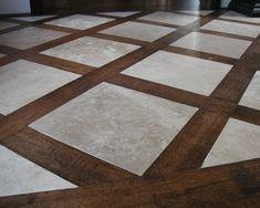Wood Floor Pattern Design Ideas, Pictures, Remodel and Decor Foyer Flooring, Wood Tile Floors, Unique Flooring, Living Room Flooring, Kitchen Flooring, Hardwood Floors, Wood Floor Design, Wood Floor Pattern, Floor Patterns