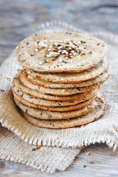 Lapundrik - Цельнозерновые хлебцы и тарталетки. Хуммус. Муттабаль.