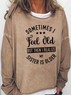 First Users Get 10% OFF 【LLC10】 Free Shipping Over $99 T Shirts With Sayings, Cute Shirts, Good Advice For Life, Plus Size Casual, Womens Fashion Online, Vintage Shirts, Long Sleeve Shirts, Sweatshirts, Hoodies