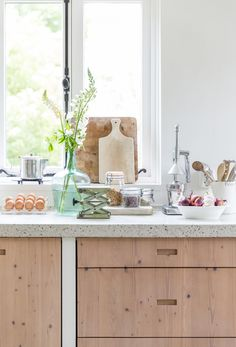 Blissful Corners: Kitchen Cabinet Cut-outs || Bliss
