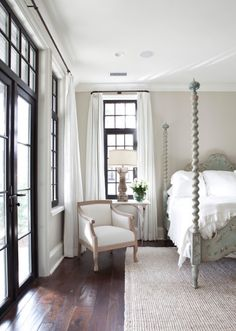 Like this wall color. Sherwin-Williams SW 7036 Accessible Beige paint color ~ by ark. Home Bedroom, Bedroom Decor, Bedroom Curtains, Master Bedrooms, Bedroom Ideas, White Curtains, Bedroom Designs, Bedroom Furniture, Luxury Bedrooms