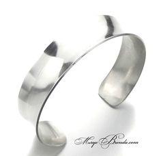 Simplistic sterling silver bangle $69