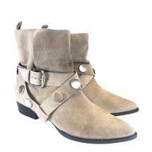 Dumond Bota Cano Curto Natural 1655