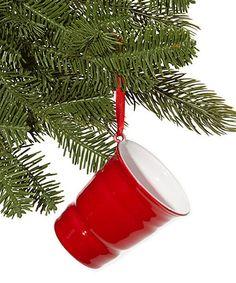 Look at this #zulilyfind! Red Party Cup Ornament #zulilyfinds