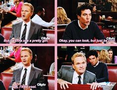 How I Met Your Mother :) Love Ted's expression in the last frame.