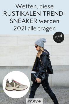 Die Marke Veja hat schon einige Trend Sneaker hervorgebracht. Für 2021 sind wir uns sicher: diese rustikalen Treter werden bald alle tragen. #instyle #instylegermany #sneaker #trendsneaker #trend2021 #schuhe #veja Sneaker Trend, Fancy, Sneakers, How To Wear, Clothes, Style, Fashion, Gray Outfits, Sneaker Trends