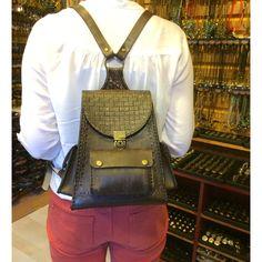 Deri çanta leather bag