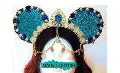 Arabian Princess Minnie Mouse Ears by MausCouture on Etsy