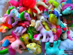 1983 My Little Ponies