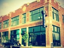Americana Restaurant & Lounge, Des Moines, Iowa. Marty and I had our first date here (May 8, 2012).