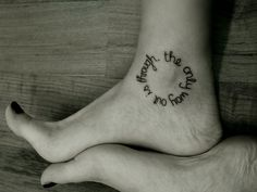 ankle tattoo 40 Tremendous Meaningful Tattoos