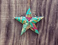 Upcycled Arizona Iced Tea Can Star Ornament by LicenseToCraft