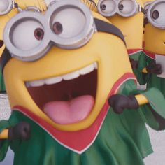 Funny Quotes QUOTATION - Image : Quotes Of the day - Description Top 10 Funniest Minions GIFs Sharing is Caring - Don't forget to share this quote Gif Minion, Amor Minions, Minion Humour, Cute Minions, Minion Movie, Minion Jokes, Minions Despicable Me, Minions Quotes, Funny Minion