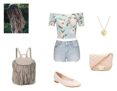 """Spring"" by missyt123 on Polyvore featuring Miss Selfridge, Topshop, Maison Scotch, Clarks, Finn and Forever 21"