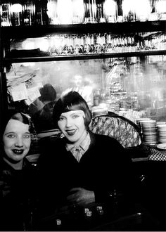 Girls in Paris, 1932 photographed by Brassai