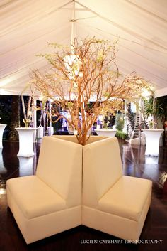 Modern white 40th birthday party
