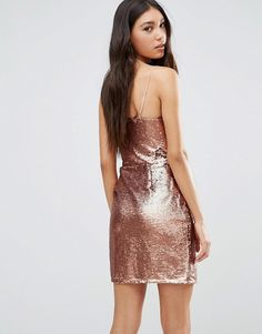 Buy Daisy Street Sequin Dress With Plunge Neck at ASOS. With free delivery and return options (Ts&Cs apply), online shopping has never been so easy. Get the latest trends with ASOS now. Asos Sequin Dress, Bachelorette Weekend, Daisy, Sequins, Formal Dresses, Street, Shopping, Fashion, Vestidos
