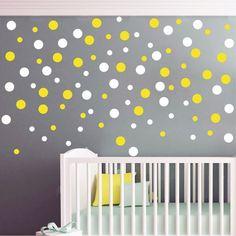 Polka Dots αυτοκόλλητα - Πουά Cribs, Polka Dots, Bed, Furniture, Home Decor, Cots, Decoration Home, Bassinet, Stream Bed