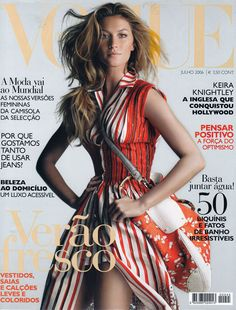 Gisele Bundchen by Patrick Demarchelier Vogue Portugal July 2006